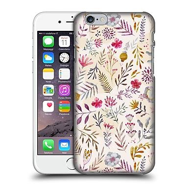 Official Oilikki Patterns Floral Light Hard Back Case For Apple Iphone 6 / 6S