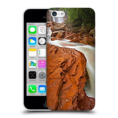 Official Michael Blanchette Appalachians Red Chute At Douglas Falls Hard Back Case For Apple Iphone 5C