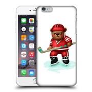 Official Oilikki Animals Bear Hockey Hard Back Case For Apple Iphone 6 Plus / 6S Plus