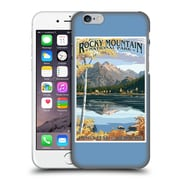 Official Lantern Press National Park Rocky Mountain Hard Back Case For Apple Iphone 6 / 6S