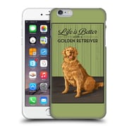 Official Lantern Press Dog Collection Life Is Better With A Golden Retriever Hard Back Case For Apple Iphone 6 Plus / 6S Plus