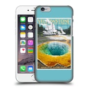 Official Lantern Press National Park Yellowstone Hard Back Case For Apple Iphone 6 / 6S