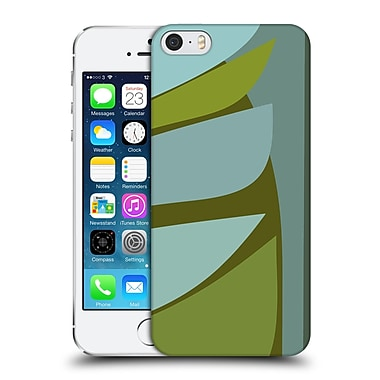 Official Magdalena Hristova Clean Lines 3 Green 6 Hard Back Case For Apple Iphone 5 / 5S / Se