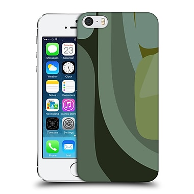 Official Magdalena Hristova Clean Lines 3 Green 9 Hard Back Case For Apple Iphone 5 / 5S / Se