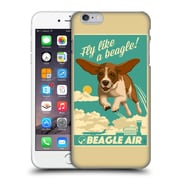 Official Lantern Press Dog Collection Fly Like A Beagle Hard Back Case For Apple Iphone 6 Plus / 6S Plus