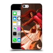 Official La Williams Fantasy Uriel Destroys Hell Final Gamut Hard Back Case For Apple Iphone 5C