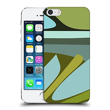 Official Magdalena Hristova Clean Lines 3 Green 4 Hard Back Case For Apple Iphone 5 / 5S / Se