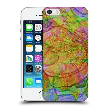Official Magdalena Hristova Flowers Multicolour Hard Back Case For Apple Iphone 5 / 5S / Se