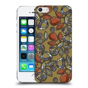 Official Magdalena Hristova Gemstones Gold 3 Hard Back Case For Apple Iphone 5 / 5S / Se