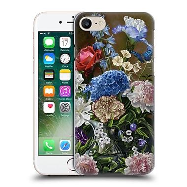 Official Nene Thomas Florals Bouquet In Blue Hard Back Case For Apple Iphone 7