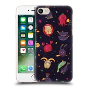 Official Oilikki Animal Patterns Zodiac Hard Back Case For Apple Iphone 7