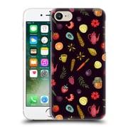 Official Oilikki Food Patterns Ingridients Hard Back Case For Apple Iphone 7