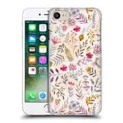 Official Oilikki Patterns Floral Light Hard Back Case For Apple Iphone 7
