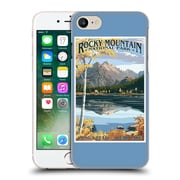 Official Lantern Press National Park Rocky Mountain Hard Back Case For Apple Iphone 7