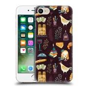 Official Oilikki Food Patterns Paris Hard Back Case For Apple Iphone 7