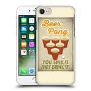 Official Lantern Press Man Cave Beer Pong Hard Back Case For Apple Iphone 7
