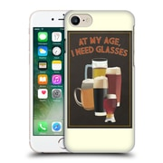 Official Lantern Press Man Cave At My Age I Need Glasses Hard Back Case For Apple Iphone 7