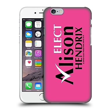 Official Orphan Black Graphics Alison Hendrix Election Material Hard Back Case For Apple Iphone 6 / 6S