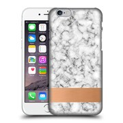 "Official Marta Olga Klara ""Mok"" Marble Copper Stripe Hard Back Case For Apple Iphone 6 / 6S"