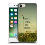 Official Olivia Joy Stclaire Typography Travel Like A Bird Without A Care Hard Back Case For Apple Iphone 7