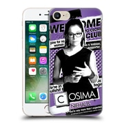Official Orphan Black #Cloneclub Cosima Niehaus Hard Back Case For Apple Iphone 7