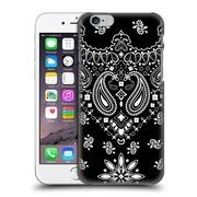 "Official Marta Olga Klara ""Mok"" Trendy Black Bandana Hard Back Case For Apple Iphone 6 / 6S"