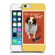 Official Lantern Press Dog Collection But You Said Hard Back Case For Apple Iphone 5 / 5S / Se
