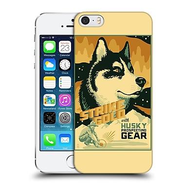 Official Lantern Press Dog Collection Husky Hard Back Case For Apple Iphone 5 / 5S / Se