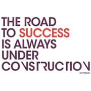 "Paperflow Office Deco Wall Transfers, The road to success 26"" x 16.5"" (15105)"
