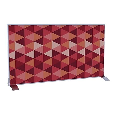 Paperflow EasyScreen Horizontal Divider Screen, Triangles (31340)