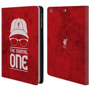 Official Liverpool Football Club Klopp Icons Normal Red Grunge Leather Book Wallet Case Cover For Apple Ipad Mini 1 / 2 / 3