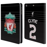 Liverpool Football Club Crest Player Shirt 3Rd Kit Clyne Third Kit Leather Book Wallet Case Cover For Apple Ipad Mini 1 / 2 / 3