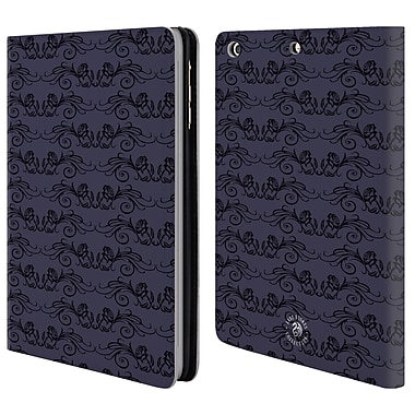 Official Anne Stokes Dark Hearts Rose Swirls Leather Book Wallet Case Cover For Apple Ipad Mini 1 / 2 / 3