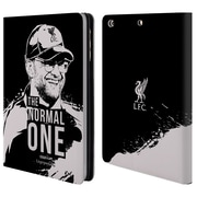 Official Liverpool Football Club Jurgen Klopp Smile Black Leather Book Wallet Case Cover For Apple Ipad Mini 1 / 2 / 3