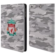 Official Liverpool Football Club Camou Third Colourways Crest Leather Book Wallet Case Cover For Apple Ipad Mini 1 / 2 / 3