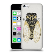 Official Cat Coquillette Insects Cicada Gold Black Hard Back Case For Apple Iphone 5C