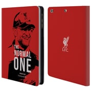 Official Liverpool Football Club Jurgen Klopp Smile Red Leather Book Wallet Case Cover For Apple Ipad Mini 1 / 2 / 3