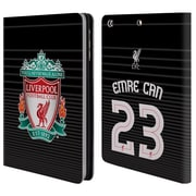 Liverpool Football Club Crest Player Shirt 3Rd Kit Emre Can Third Kit Leather Book Wallet Case Cover For Apple Ipad Mini 1 2 3