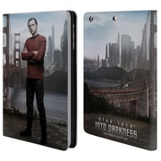 Official Star Trek Characters Into Darkness Xii Scotty Leather Book Wallet Case Cover For Apple Ipad Mini 1 / 2 / 3