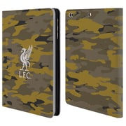 Official Liverpool Football Club Camou Royal Colourways Liver Bird Leather Book Wallet Case Cover For Apple Ipad Mini 1 / 2 / 3