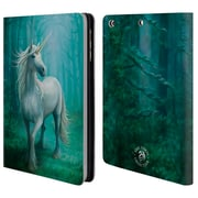 Official Anne Stokes Mythical Creatures Forest Unicorn Leather Book Wallet Case Cover For Apple Ipad Mini 1 / 2 / 3