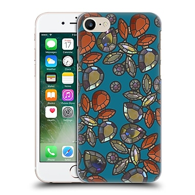 Official Magdalena Hristova Gemstones Teal 2 Hard Back Case For Apple Iphone 7