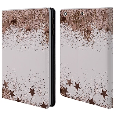 Official Monika Strigel Shaky Stars Rose 2 Leather Book Wallet Case Cover For Apple Ipad Mini 1 / 2 / 3