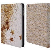 Official Monika Strigel Shaky Stars Gold Leather Book Wallet Case Cover For Apple Ipad Mini 1 / 2 / 3