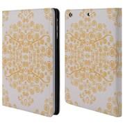 Official Monika Strigel Ambrosia Orange Leather Book Wallet Case Cover For Apple Ipad Mini 1 / 2 / 3