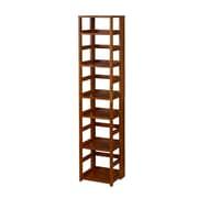 "Regency Flip Flop 67"" High Square Folding Bookcase- Cherry (FFSQ6712CH)"