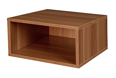 Niche Cubo Half Size Stackable Storage Cube- Warm Cherry (PC1206WC)