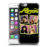 Official Poison Album Covers Ride The Wind Hard Back Case For Apple Iphone 6 / 6S