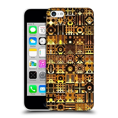 Official Giulio Rossi Patchwork Black & Gold Hard Back Case For Apple Iphone 5C