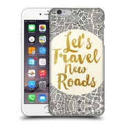 Official Pom Graphic Design Typography Let'S Travel New Roads Hard Back Case For Apple Iphone 6 Plus / 6S Plus